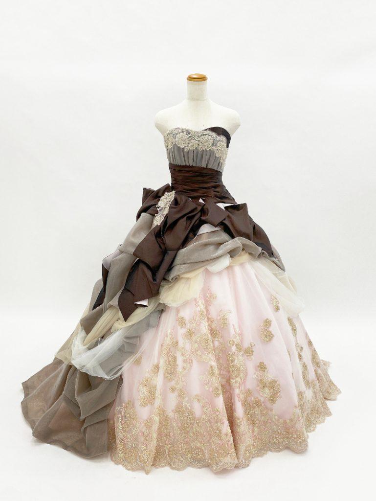 【ショコラ】プリンセスラインドレス
