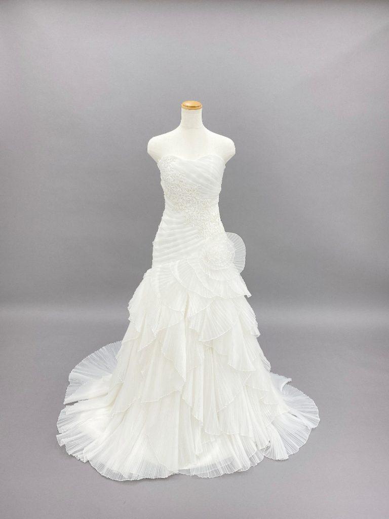 【スチュアート】マーメイドラインドレス