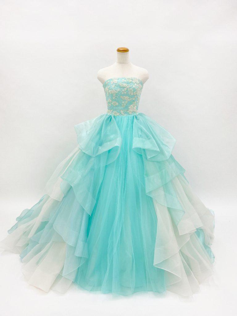 【クレア】プリンセスラインドレス